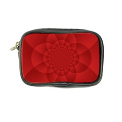 Psychedelic Art Red  Hi Tech Coin Purse