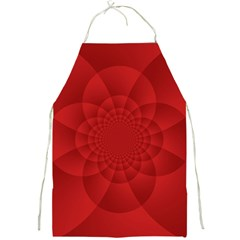 Psychedelic Art Red  Hi Tech Full Print Aprons