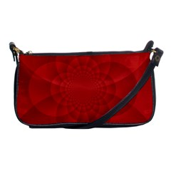 Psychedelic Art Red  Hi Tech Shoulder Clutch Bags