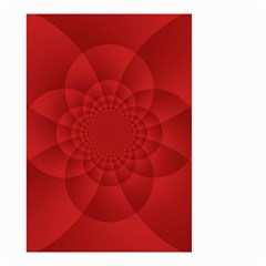 Psychedelic Art Red  Hi Tech Small Garden Flag (two Sides)