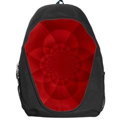 Psychedelic Art Red  Hi Tech Backpack Bag