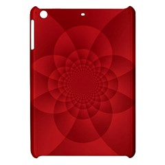 Psychedelic Art Red  Hi Tech Apple Ipad Mini Hardshell Case