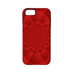 Psychedelic Art Red  Hi Tech Apple Iphone 5 Classic Hardshell Case (pc+silicone)