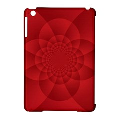 Psychedelic Art Red  Hi Tech Apple iPad Mini Hardshell Case (Compatible with Smart Cover)