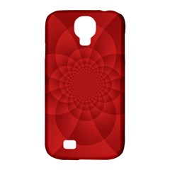 Psychedelic Art Red  Hi Tech Samsung Galaxy S4 Classic Hardshell Case (pc+silicone)