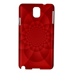 Psychedelic Art Red  Hi Tech Samsung Galaxy Note 3 N9005 Hardshell Case
