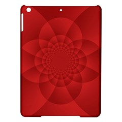 Psychedelic Art Red  Hi Tech Ipad Air Hardshell Cases