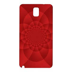 Psychedelic Art Red  Hi Tech Samsung Galaxy Note 3 N9005 Hardshell Back Case