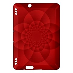 Psychedelic Art Red  Hi Tech Kindle Fire HDX Hardshell Case