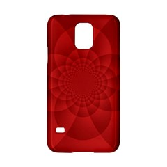 Psychedelic Art Red  Hi Tech Samsung Galaxy S5 Hardshell Case