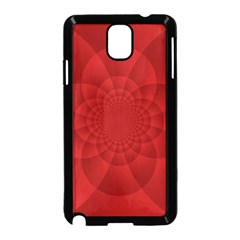 Psychedelic Art Red  Hi Tech Samsung Galaxy Note 3 Neo Hardshell Case (black)
