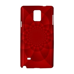 Psychedelic Art Red  Hi Tech Samsung Galaxy Note 4 Hardshell Case