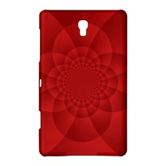 Psychedelic Art Red  Hi Tech Samsung Galaxy Tab S (8 4 ) Hardshell Case