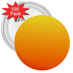 Rainbow Yellow Orange Background 3  Buttons (100 Pack)