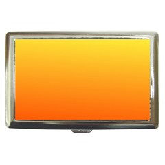 Rainbow Yellow Orange Background Cigarette Money Cases