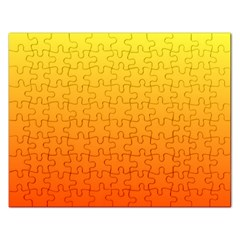 Rainbow Yellow Orange Background Rectangular Jigsaw Puzzl