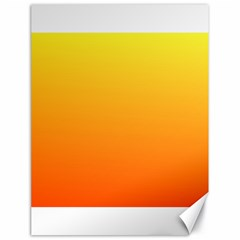 Rainbow Yellow Orange Background Canvas 18  X 24