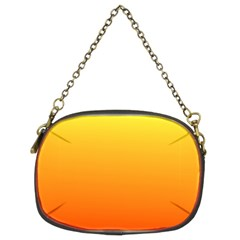 Rainbow Yellow Orange Background Chain Purses (two Sides)
