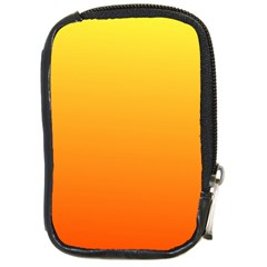 Rainbow Yellow Orange Background Compact Camera Cases