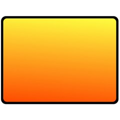 Rainbow Yellow Orange Background Fleece Blanket (large)