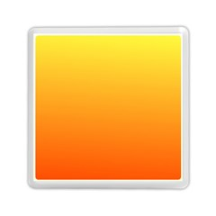 Rainbow Yellow Orange Background Memory Card Reader (square)