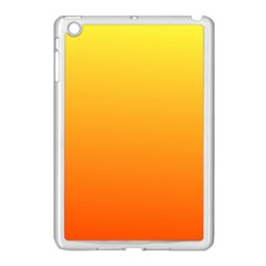 Rainbow Yellow Orange Background Apple Ipad Mini Case (white)