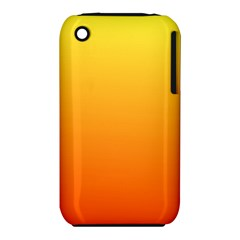 Rainbow Yellow Orange Background iPhone 3S/3GS