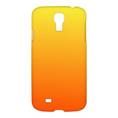 Rainbow Yellow Orange Background Samsung Galaxy S4 I9500/i9505 Hardshell Case