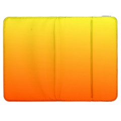 Rainbow Yellow Orange Background Samsung Galaxy Tab 7  P1000 Flip Case