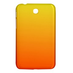 Rainbow Yellow Orange Background Samsung Galaxy Tab 3 (7 ) P3200 Hardshell Case