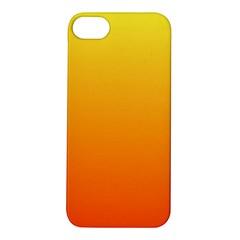 Rainbow Yellow Orange Background Apple Iphone 5s/ Se Hardshell Case