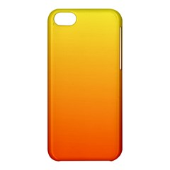 Rainbow Yellow Orange Background Apple Iphone 5c Hardshell Case