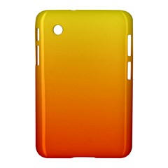 Rainbow Yellow Orange Background Samsung Galaxy Tab 2 (7 ) P3100 Hardshell Case