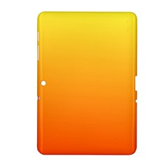 Rainbow Yellow Orange Background Samsung Galaxy Tab 2 (10 1 ) P5100 Hardshell Case