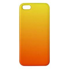 Rainbow Yellow Orange Background Iphone 5s/ Se Premium Hardshell Case