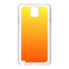 Rainbow Yellow Orange Background Samsung Galaxy Note 3 N9005 Case (white)