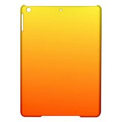 Rainbow Yellow Orange Background Ipad Air Hardshell Cases