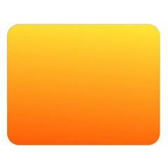 Rainbow Yellow Orange Background Double Sided Flano Blanket (large)