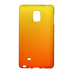 Rainbow Yellow Orange Background Galaxy Note Edge
