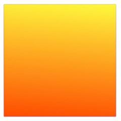 Rainbow Yellow Orange Background Large Satin Scarf (square)