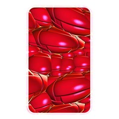 Red Abstract Cherry Balls Pattern Memory Card Reader