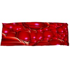 Red Abstract Cherry Balls Pattern Body Pillow Case Dakimakura (two Sides)