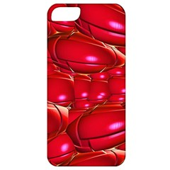 Red Abstract Cherry Balls Pattern Apple Iphone 5 Classic Hardshell Case