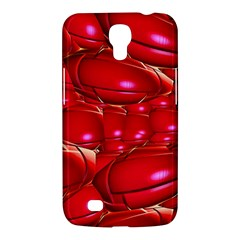Red Abstract Cherry Balls Pattern Samsung Galaxy Mega 6 3  I9200 Hardshell Case