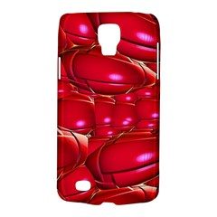 Red Abstract Cherry Balls Pattern Galaxy S4 Active