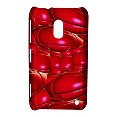 Red Abstract Cherry Balls Pattern Nokia Lumia 620