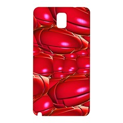 Red Abstract Cherry Balls Pattern Samsung Galaxy Note 3 N9005 Hardshell Back Case