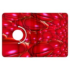 Red Abstract Cherry Balls Pattern Kindle Fire Hdx Flip 360 Case