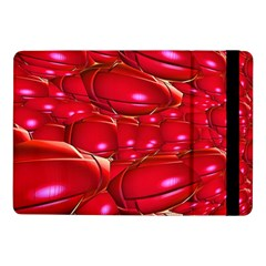Red Abstract Cherry Balls Pattern Samsung Galaxy Tab Pro 10 1  Flip Case