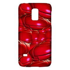 Red Abstract Cherry Balls Pattern Galaxy S5 Mini